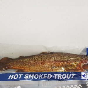 Hot Smoked Rainbow Trout (Whole)