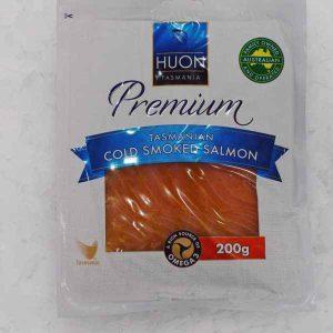 Premium Cold Smoked Salmon (Tasmania) 200g